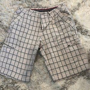 Jordan Mens Plaid Shorts